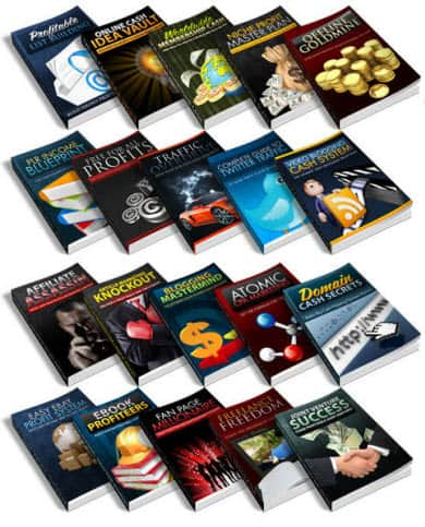 Did You Grab Your 21 Free Ebooks With PLR Click Here!